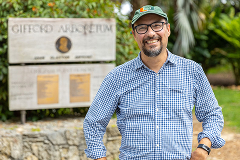Ecologist has a passion for tropical trees